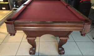 Brunswick Contender used pool table