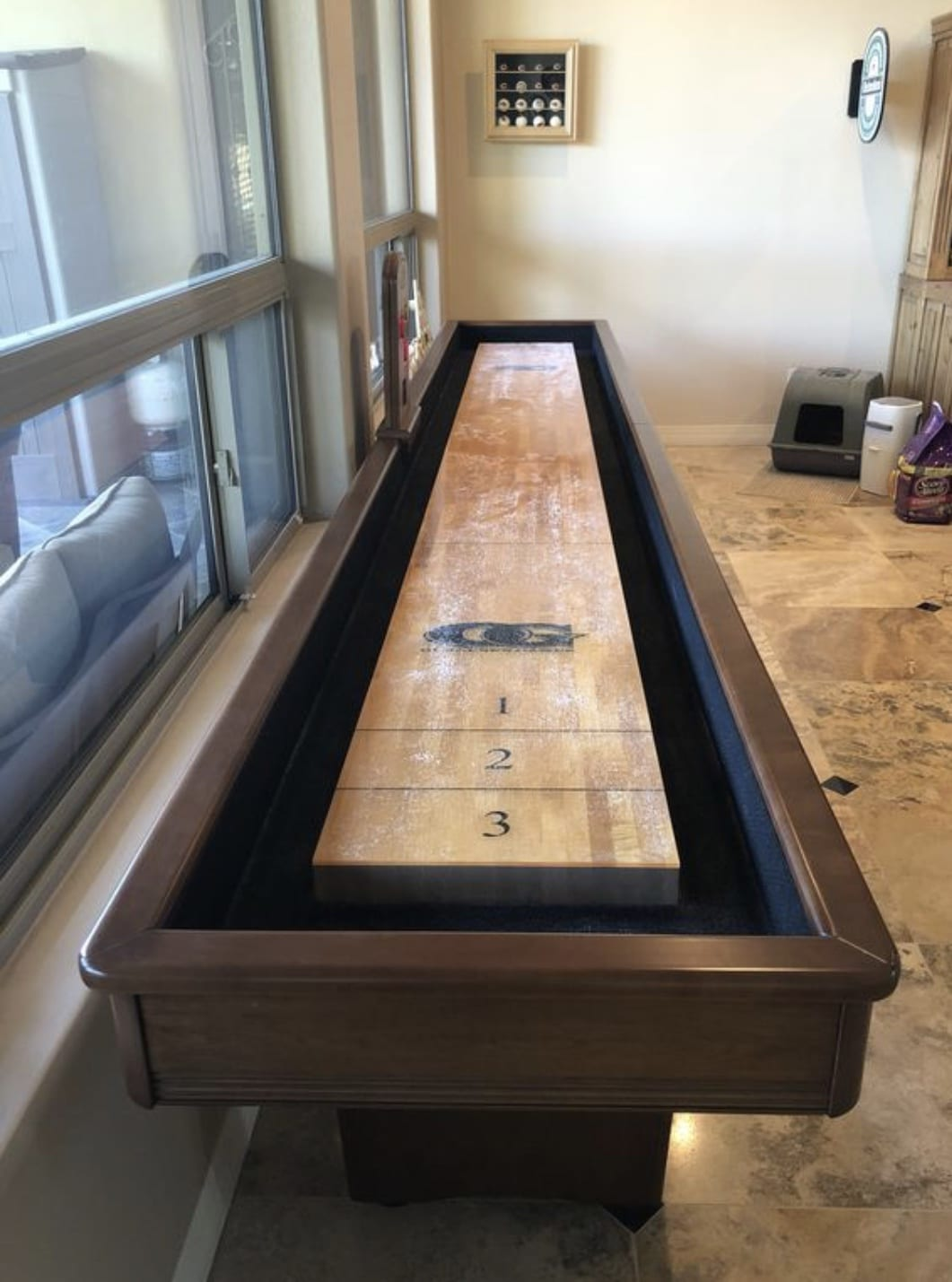 Olhausen York 12 Foot Shuffleboard