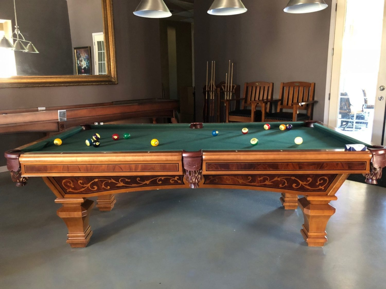 Brunswick Ashbee Pool Table