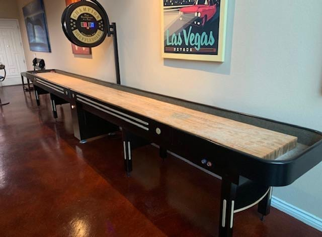 Champion Grand Champion 22 Foot Shuffleboard with Scoreboard